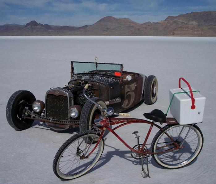 "Salt Flats For 2008 Speed Week-""Car Show On The Salt"