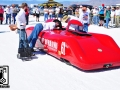 City of Burbank Streamliner at Bonneville