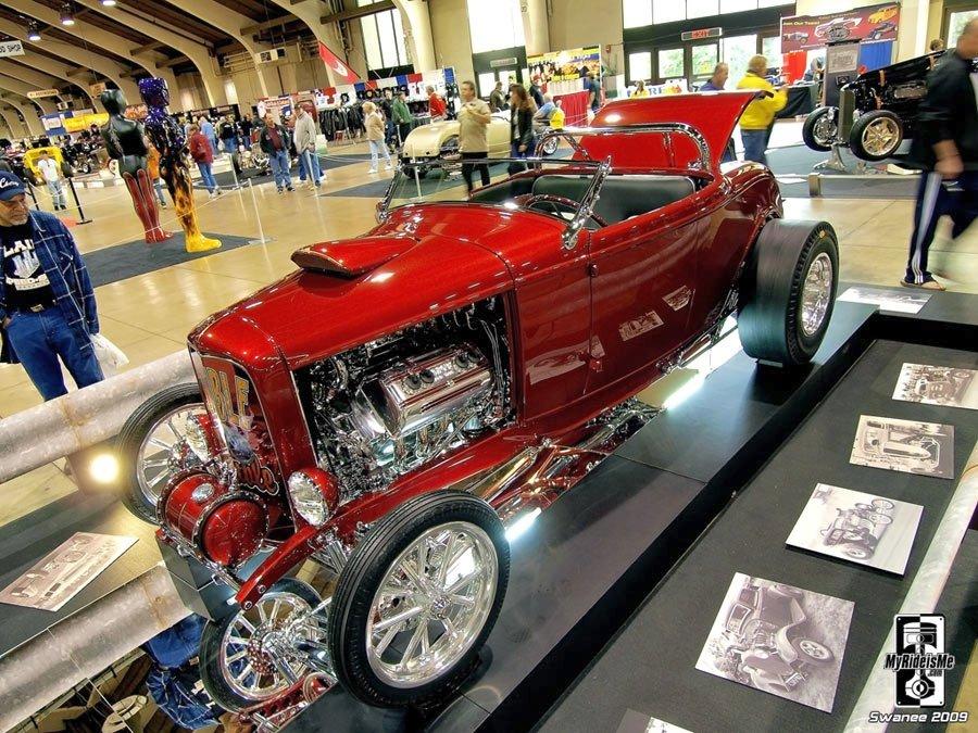 hot rod roadster, AMBR contender, ardun flathead