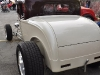 Rear shot of Scalloped deuce coupe