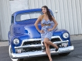 Hot Rod Pinups & 54 Chevy Truck