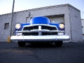 Front End of Custom 54 Chevy Pickup
