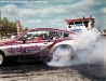 Chevy Monza burning rubber
