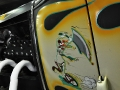 Pinstriping from 2012 Detroit Autorama