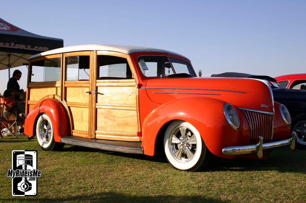 ford woodie, custom woodie