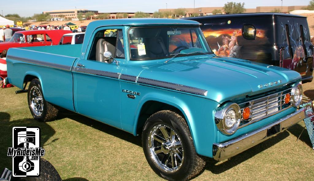 Dad\'s Old 1965 Dodge D200 Truck - Hot Rod Dodge Pickup | MyRideisMe.com