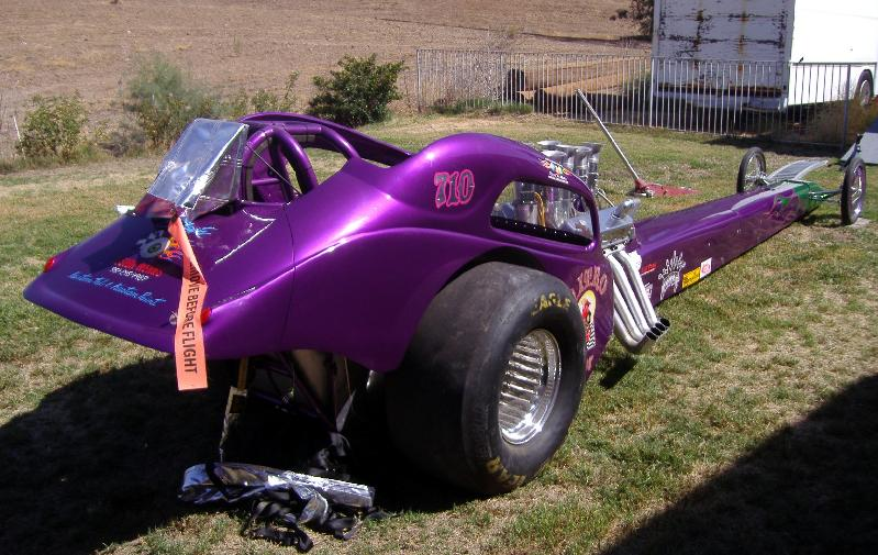 Newt's Fiat body Front Engine Dragster