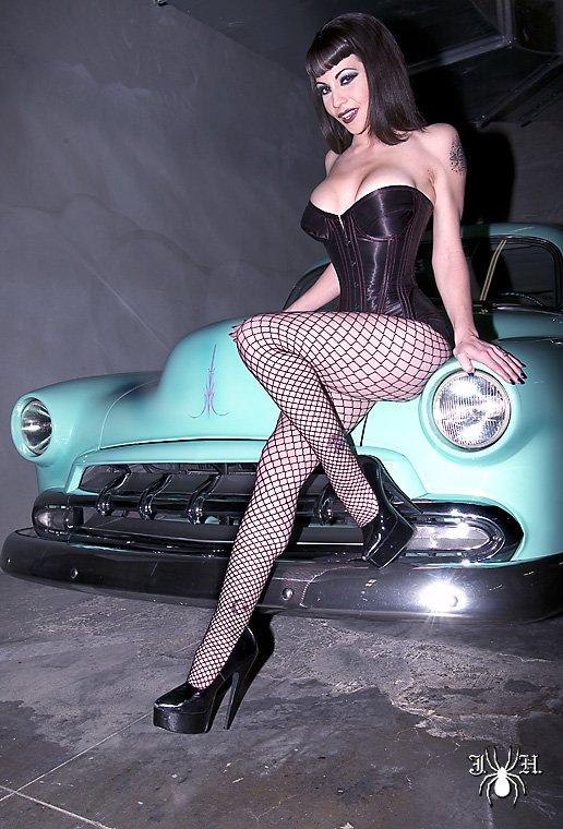 Beautiful Pinup model, Kim Falcon