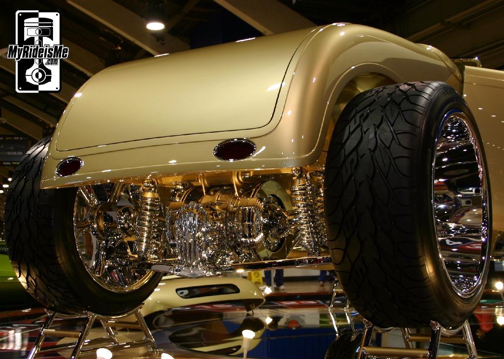 Rear details, America's Most Beautiful Roadster