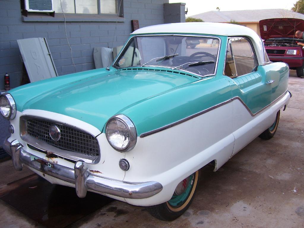 Amber's 1959 Nash Metropolitan