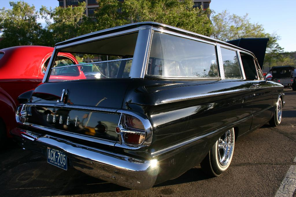 2 door comet wagon custom
