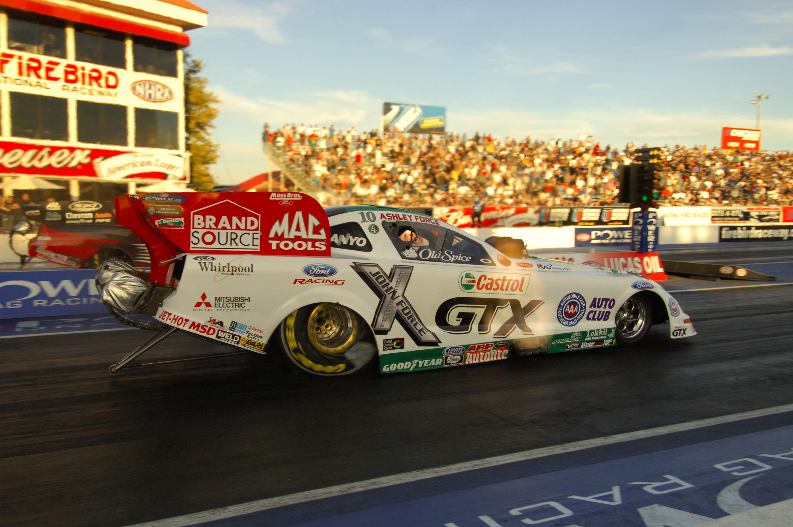 John Force at Firebird