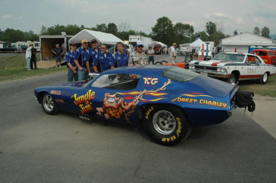 Jungle Jim tribute Funny Car