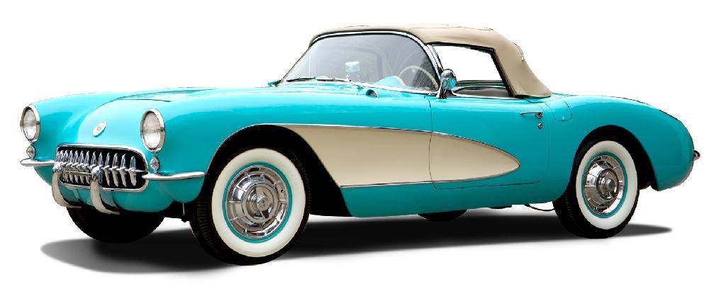 serial001 1957 Corvette