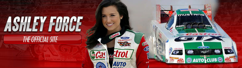 Ashley Force Homepage Link