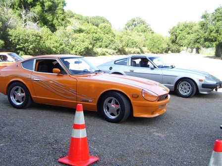 1976 Datsun 280 Z and a 1981 280 turbo ZX