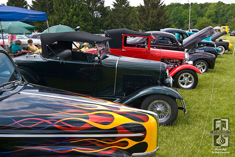 Councours East Club Cars and Hot Rods