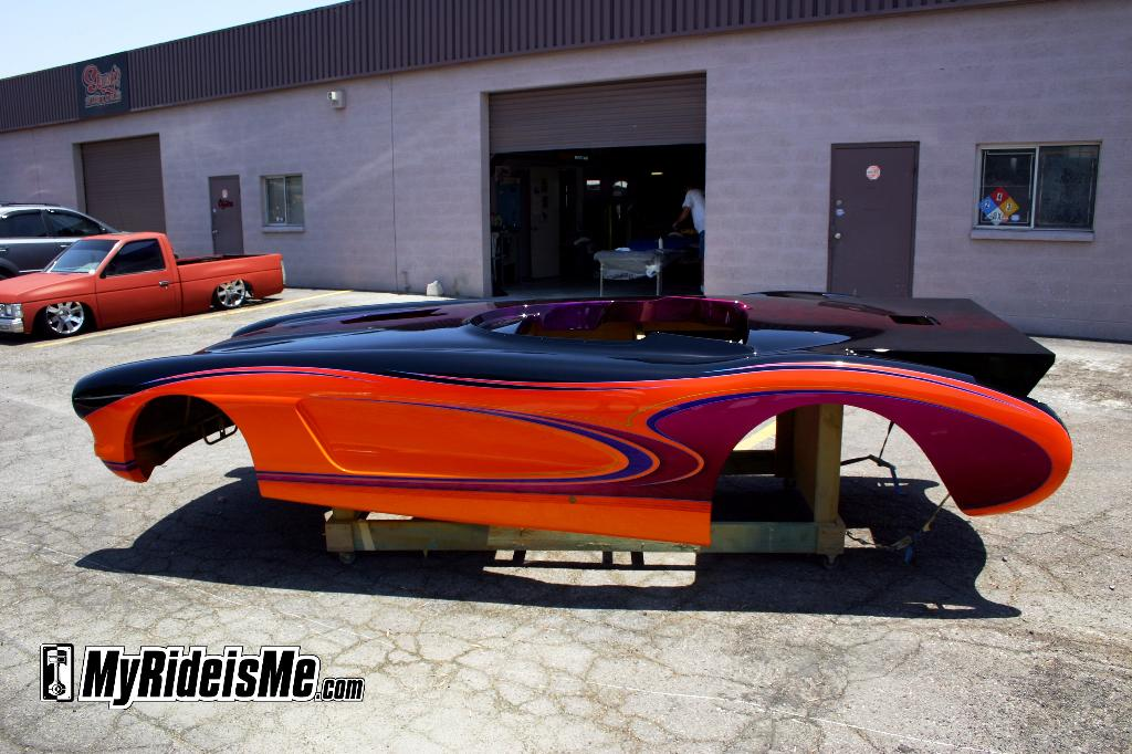 Super gas Corvette race body