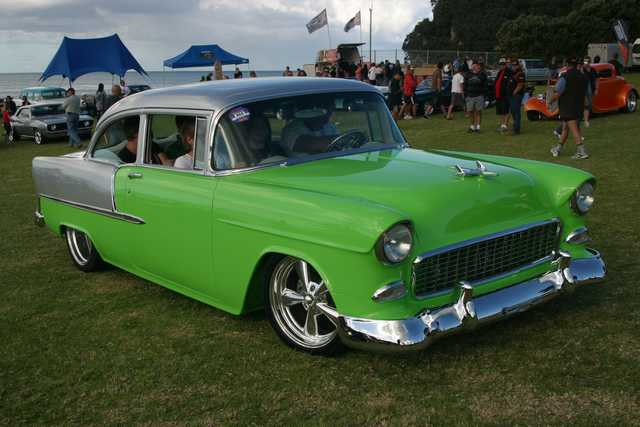 "Beach Hop -55 Chevy ""top 5″"