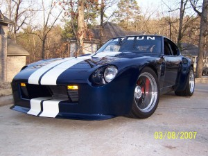 BlueovalZ's highly modified, Ford Powered 240Z