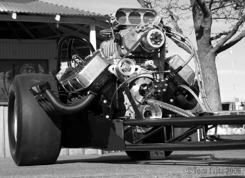 Front Engine dragster race car art -inspiration