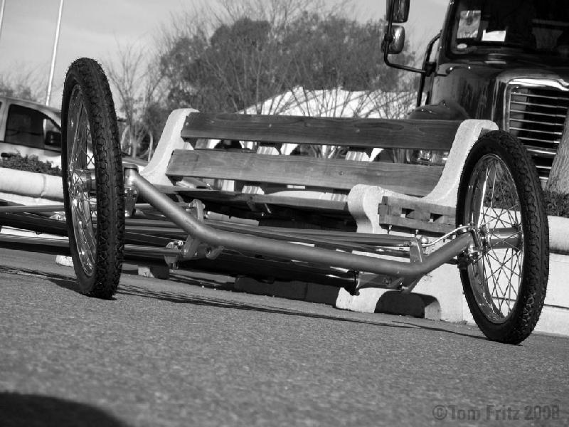 Front Engine dragster race car art