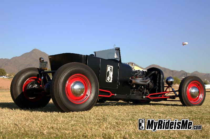 1927 Ford Roadster hot rod - present day