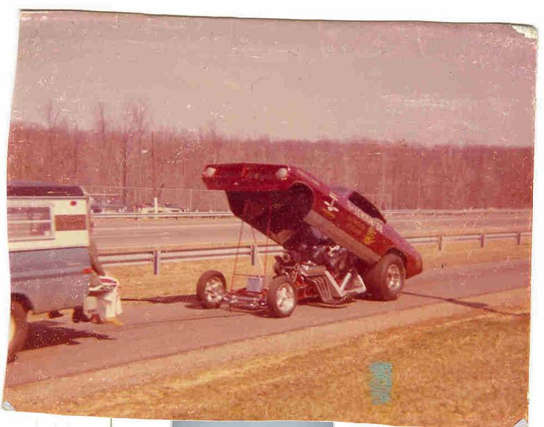 "Joe Jacono's ""Brief Encounter"" nostalgia Funny car"