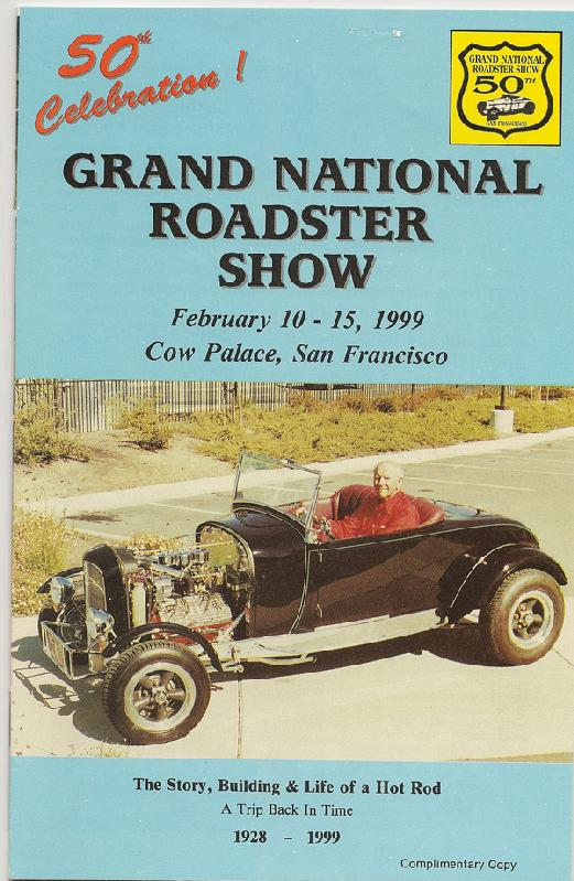 50th Annual Grand National Roadster Show Program