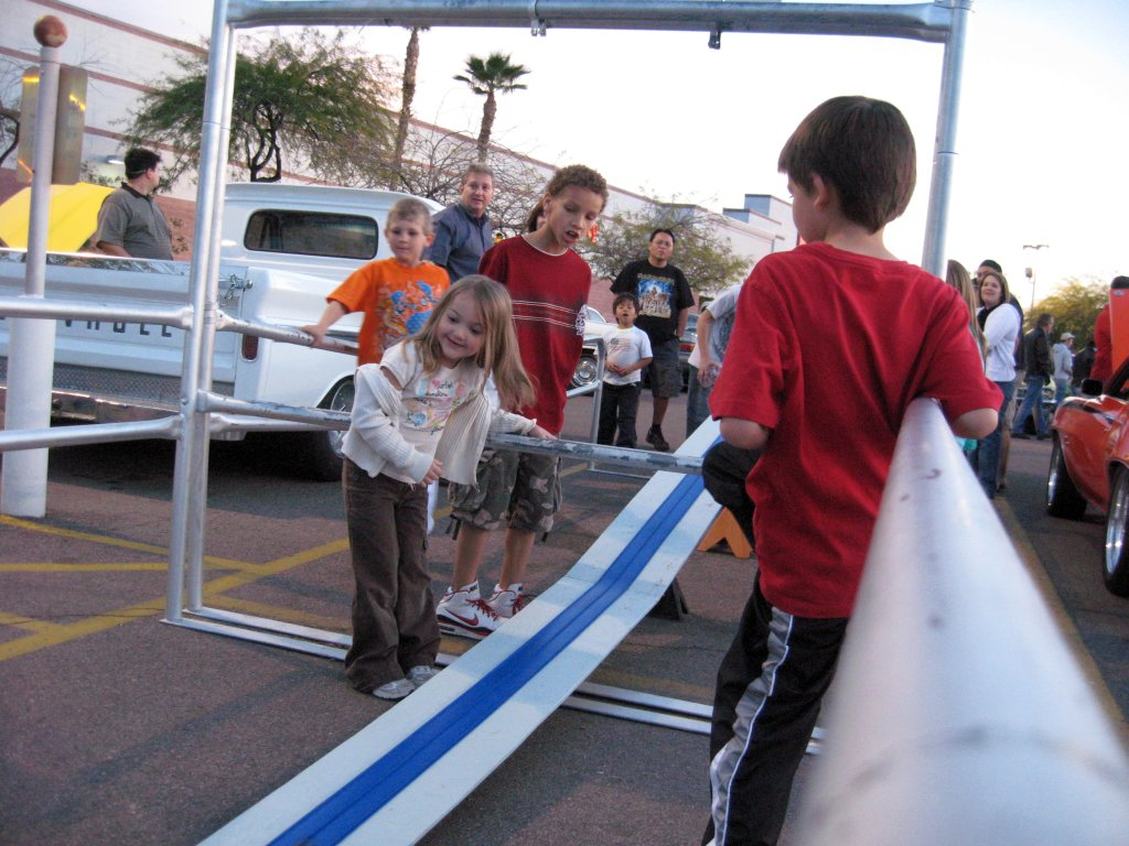 Mesa Arizonas Hot Wheels Racing For Kids At The Car Show - Mesa car show