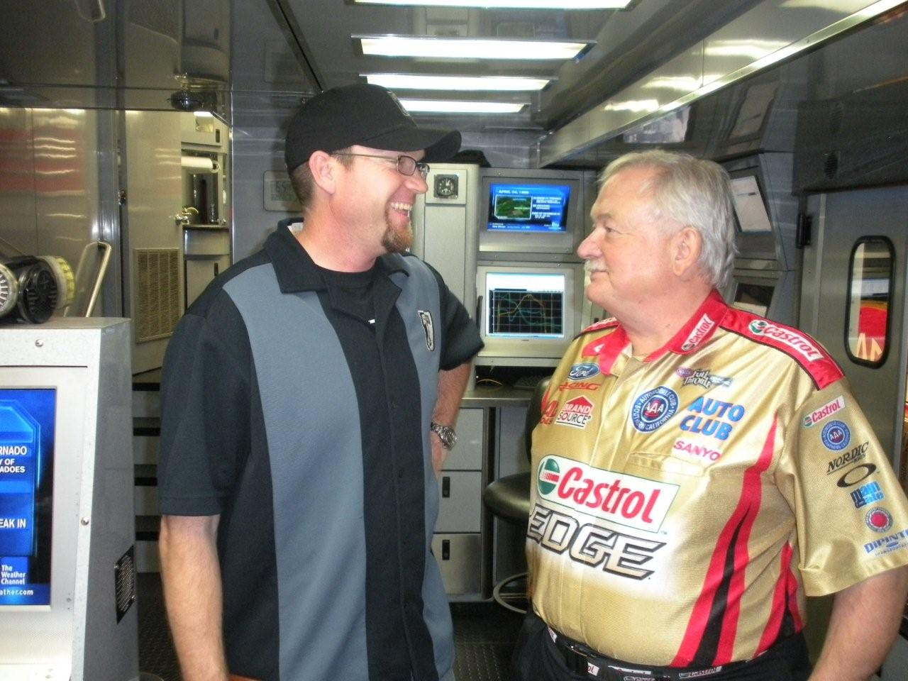 Austin Coil, crew chief, john force, funny car, history