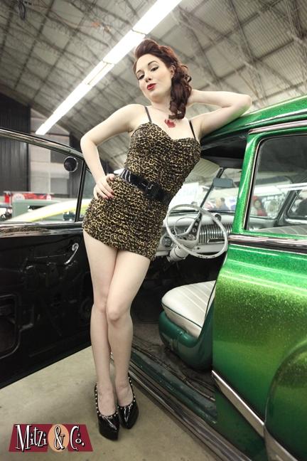 Stunning pinup model Angela Ryan