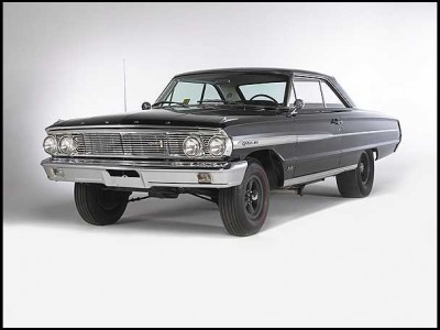 Nostalgia Drags: 64 Galaxie Rocket car