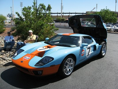 A Ford GT40 at The 2nd Annual JENNABEARS Car Show and Family Day