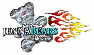 Jennabears car show logo