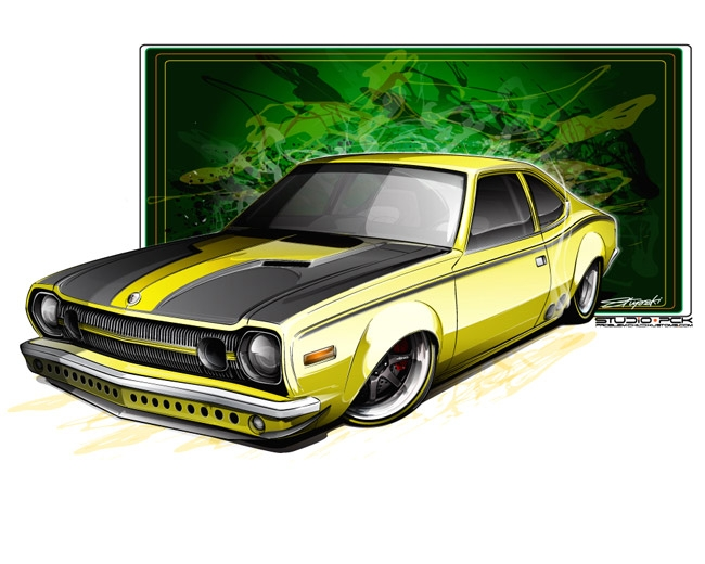 1974 AMC Hornet, Custom AMC Hornet, concept drawing