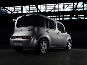 Nissan Cube for you to love or hate at the Scottsdale Pavilion car show