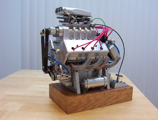 Internet Barn Finds 1 Scale Miniature Hot Rod Engines
