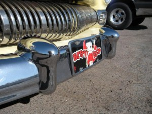 All Ways Hot Rods-1950 Merc' Custom bumper guards