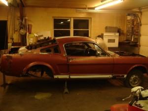 66 Mustang, Fastback mustang
