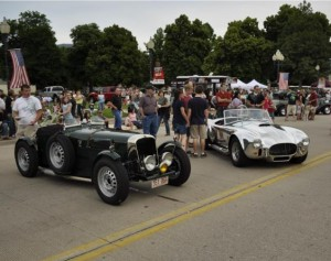 Two classic roadsters
