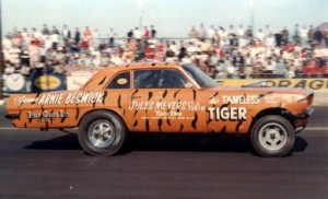 Arnie Beswick Pontiace Funny Car