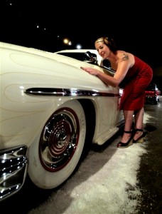 "Bo Huff made kustom called ""Dixie Deluxe"" at Ink and Iron"