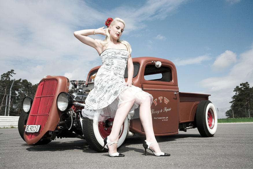 pin girls and cars - photo #15
