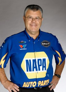 "Ed ""Ace"" McCulloch from Napa Auto Funny car"