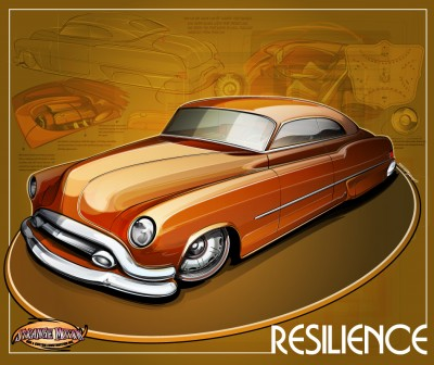 "1952 Buick Riviera Model 45R Custom Car ""Resilience"""