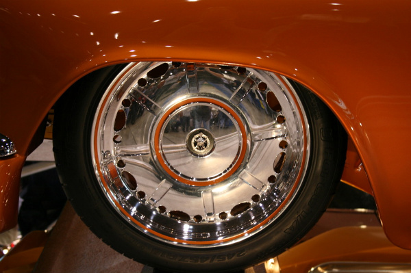 Custom wheel design, one off billet wheel