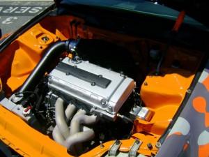 1.9L Honda B series and a beautiful turbo manifold