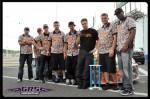 Chris Miller and the NRG Tech Crew-Dig those camo shirts guys!