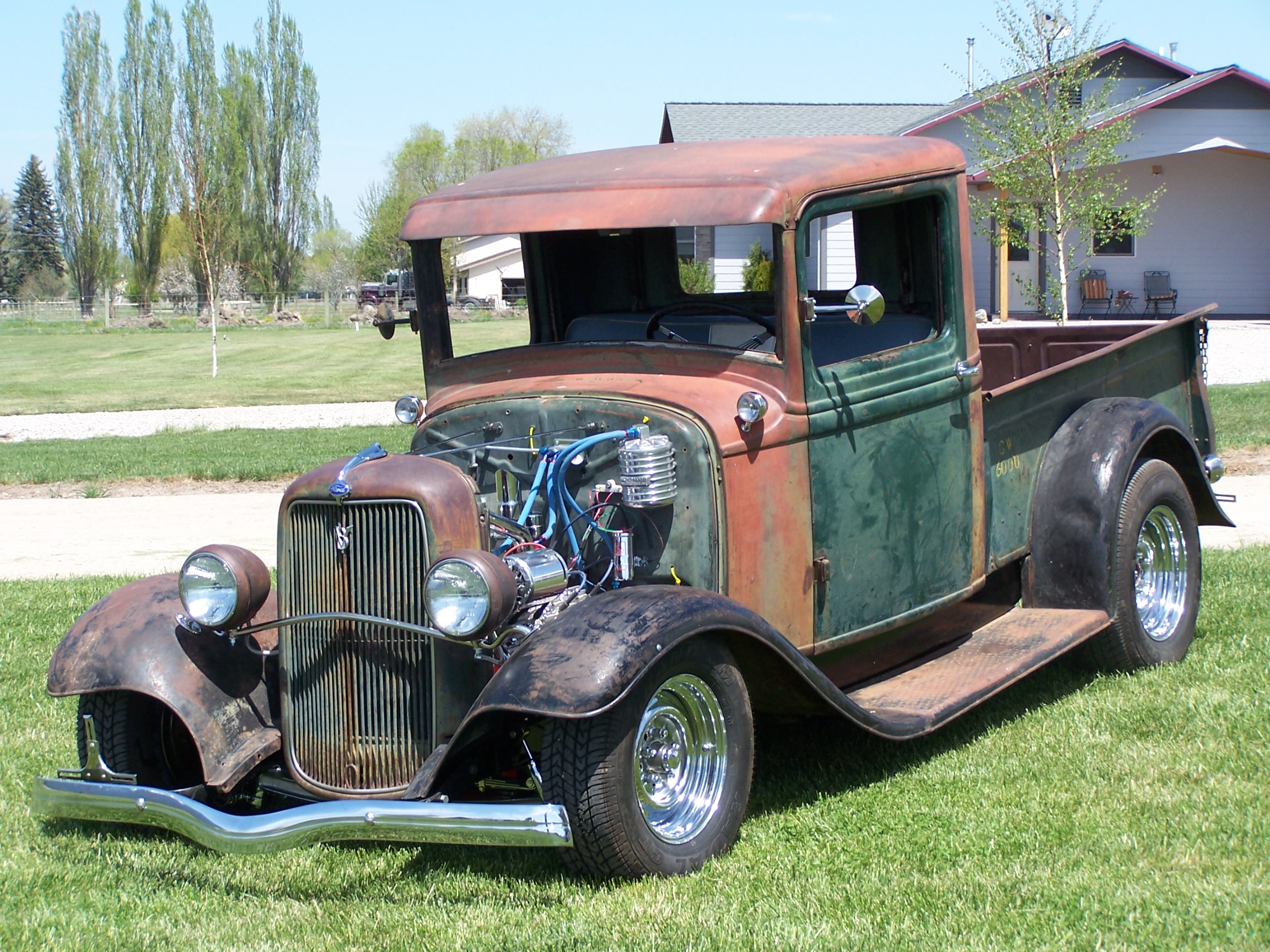 1934 Ford Hot Rod Pickup.